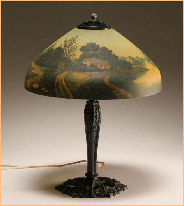 Glass Lamp Shades Antique