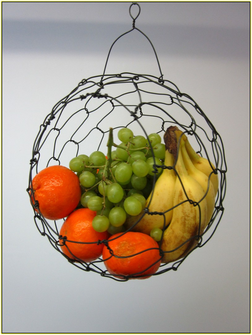 Hanging Wire Fruit Basket