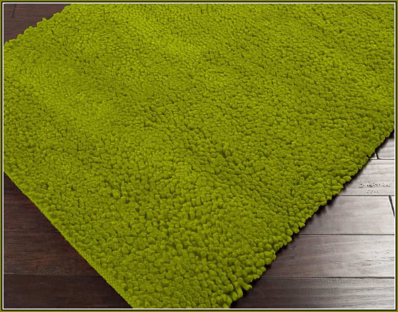 Lime Green Area Rug Walmart