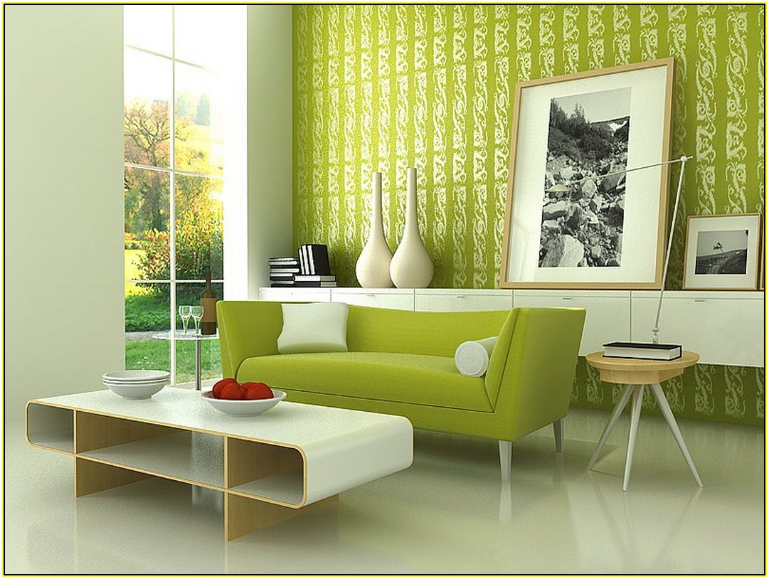 Lime Green Couch