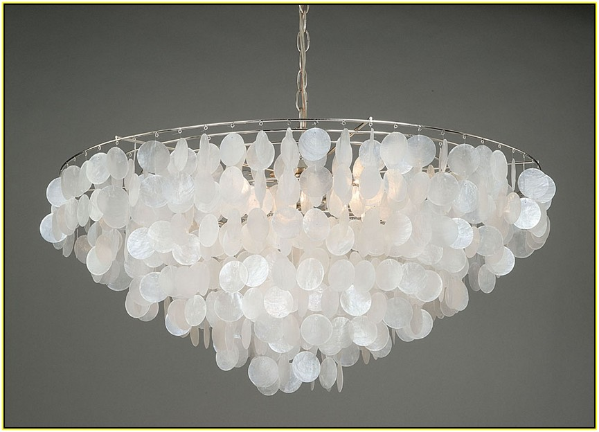 Capiz Shell Chandelier Laura Ashley