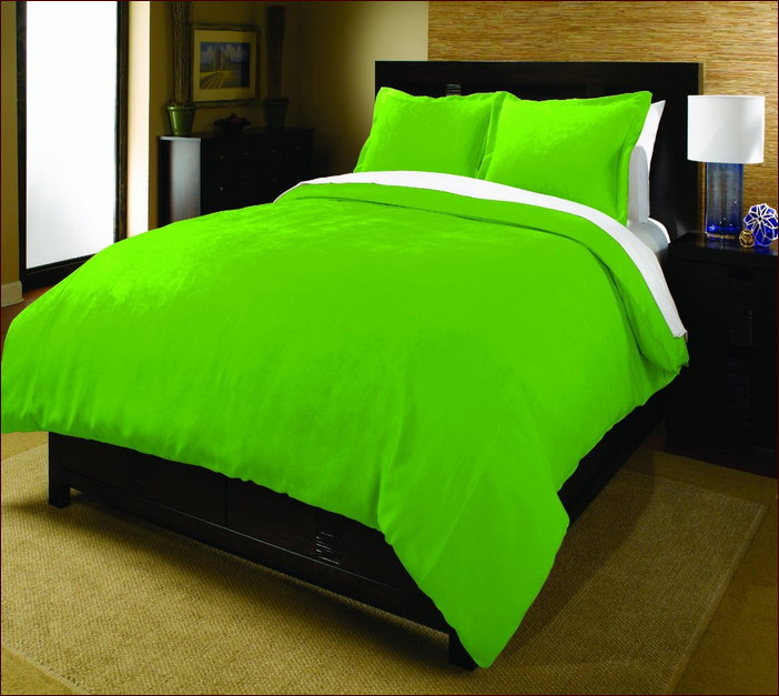 Lime Green Duvet Cover Full