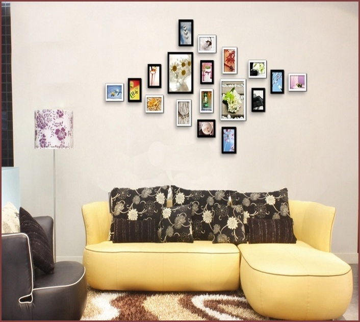 Living Space Wall Decorations Ideas