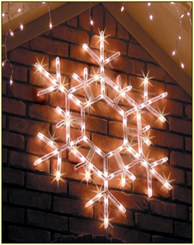 Outdoor Led Snowflake Christmas Lights