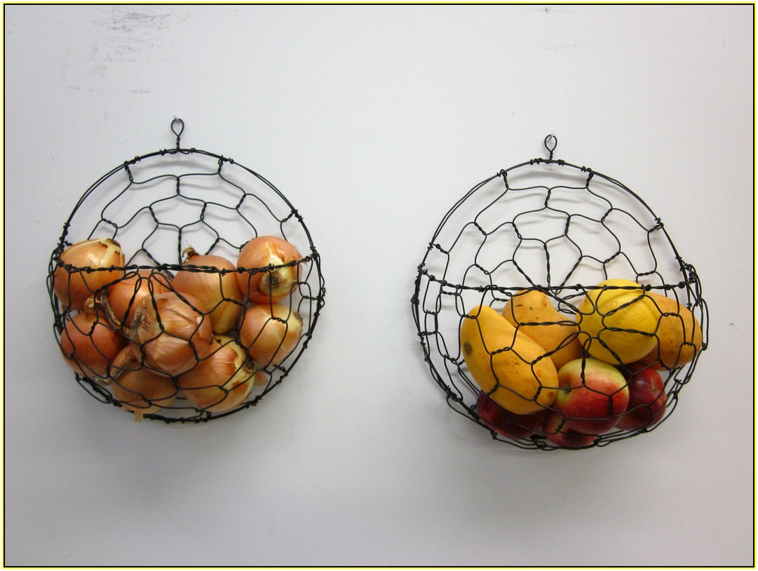 Wall Mounted Fruit Basket