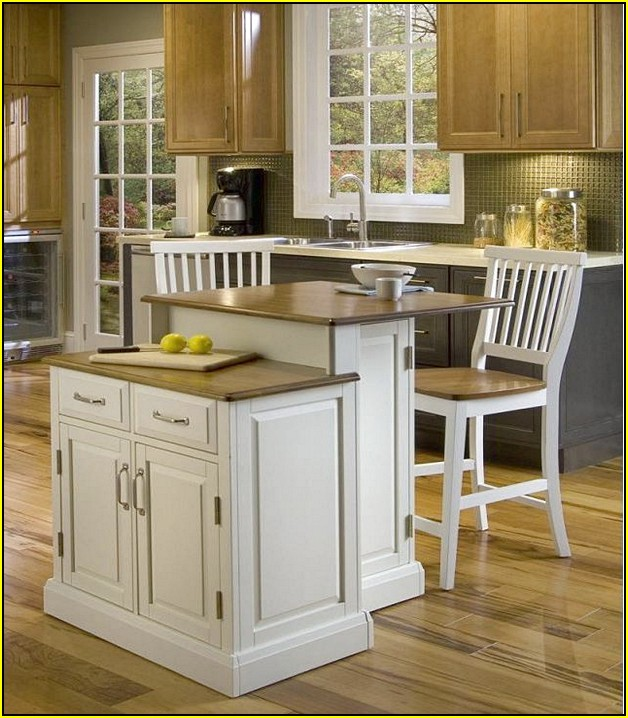 2 Tier Kitchen Island Ideas