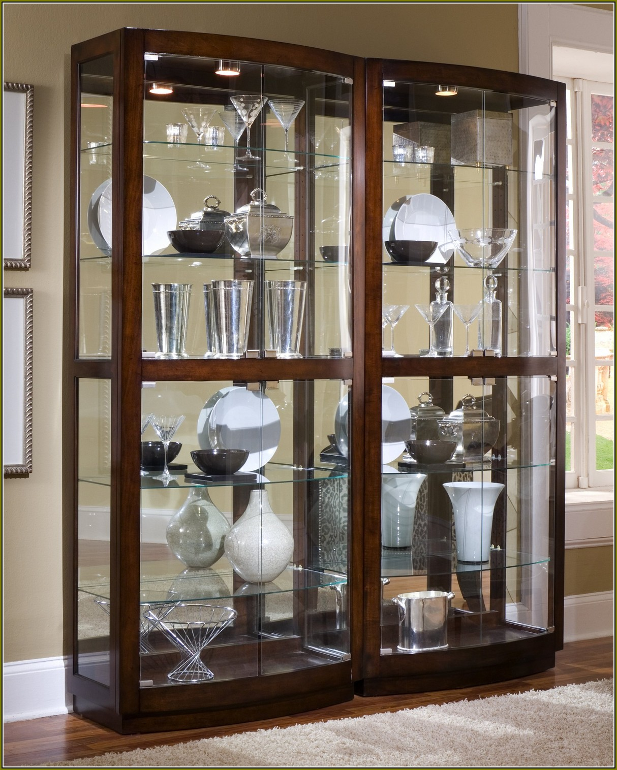 Antique Curio Cabinet Replacement Glass