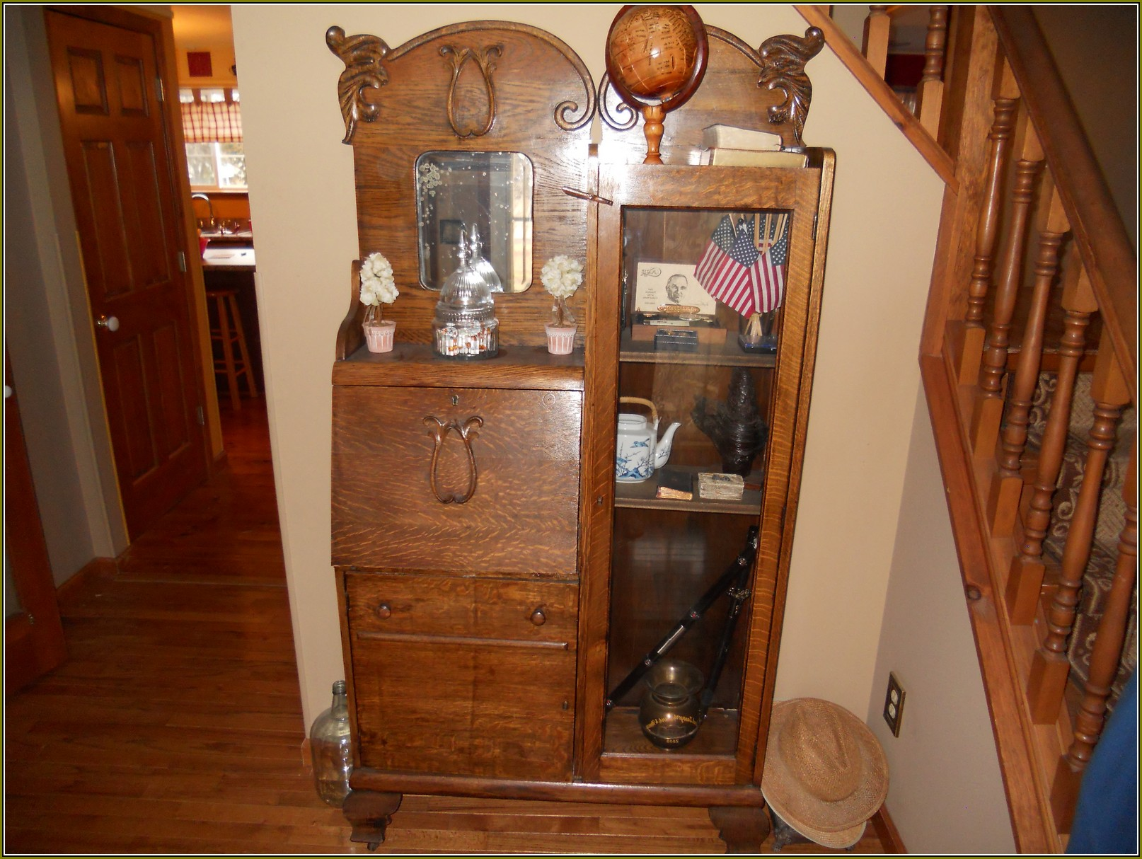Antique Curio Cabinet Value