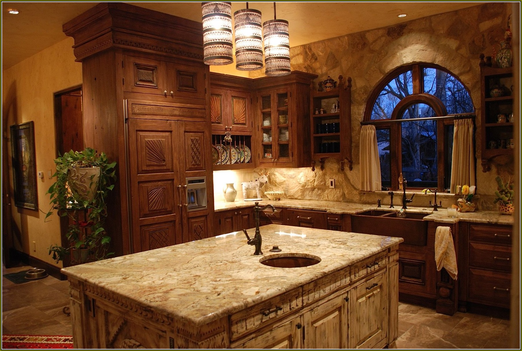 Distressed Kitchen Cabinet Finishes