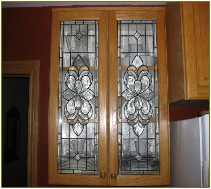 Ebay Kitchen Cabinet Beveled Glass Inserts