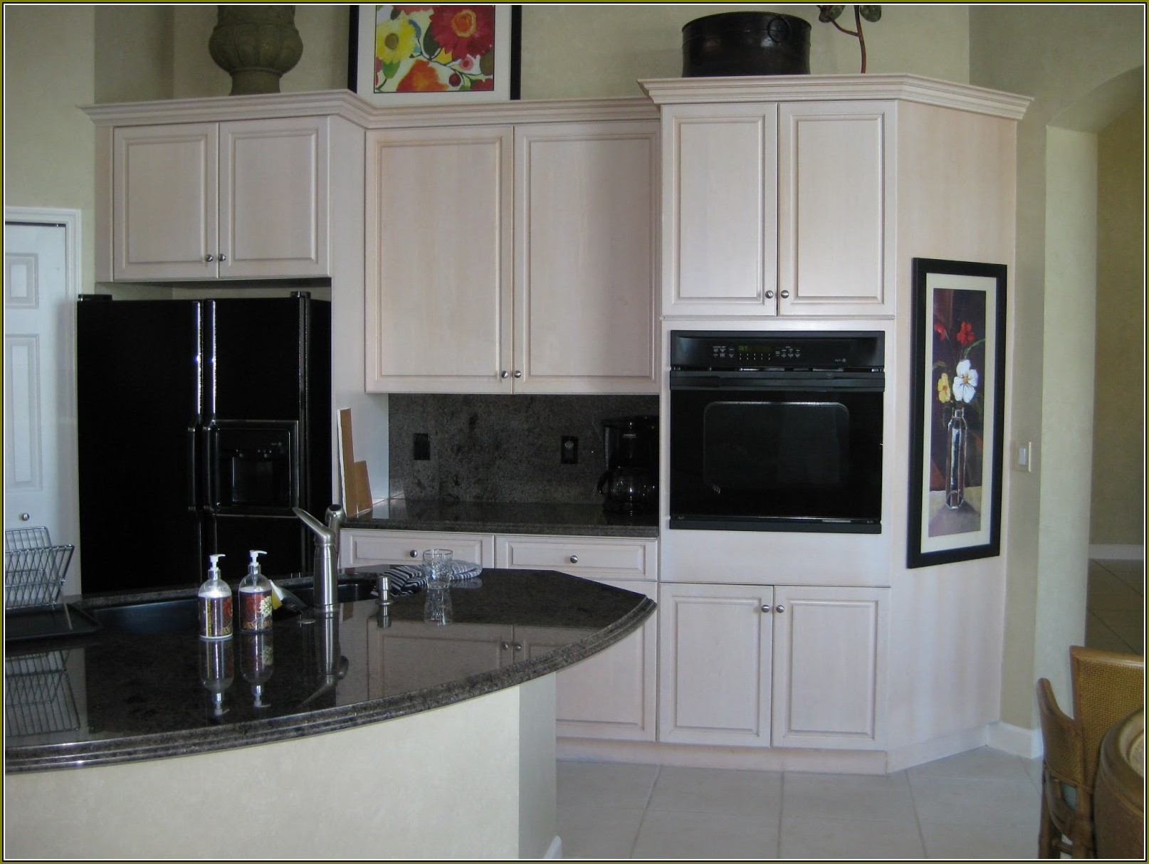 Faux Kitchen Cabinet Finishes