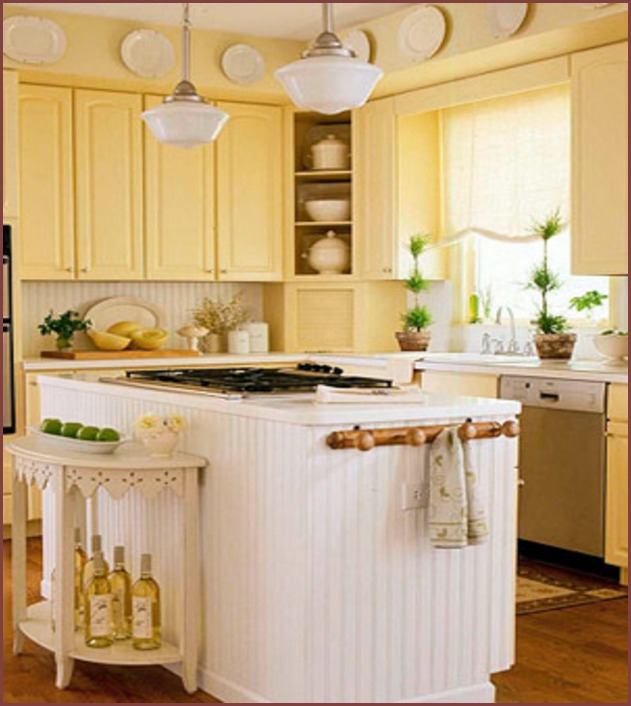 Images Of Small Kitchen Decorating Ideas
