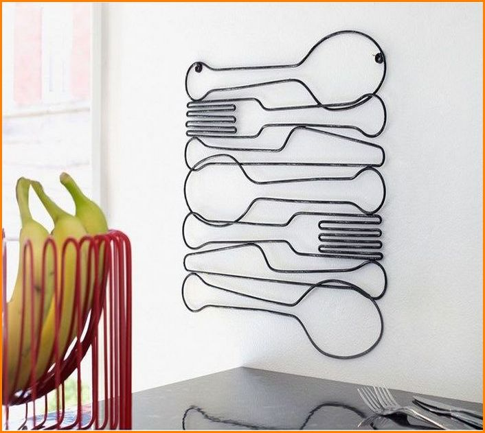 Kitchen Metal Wall Art Decor Inspiration