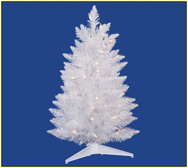 Pure White Led Christmas Tree Lights