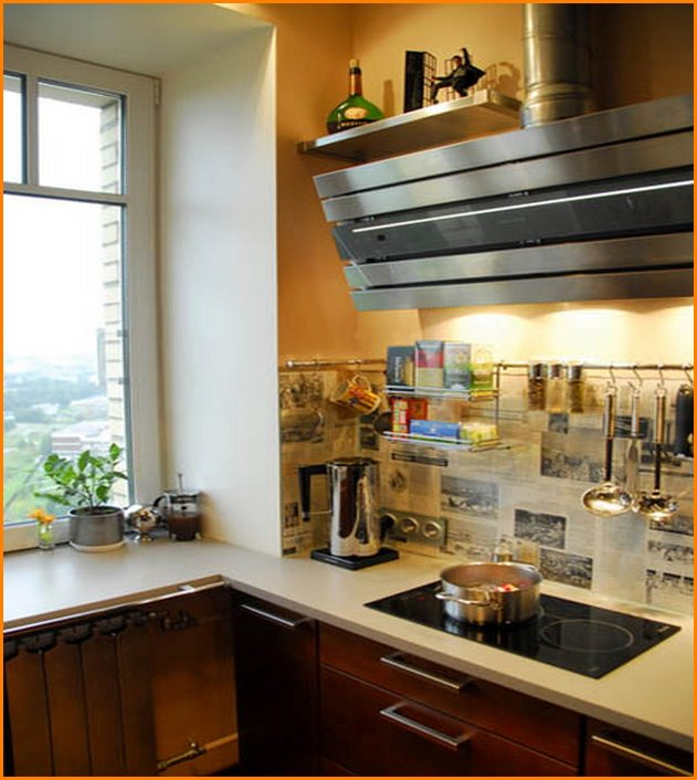 Small Kitchen Wall Decorating Ideas Inspiration