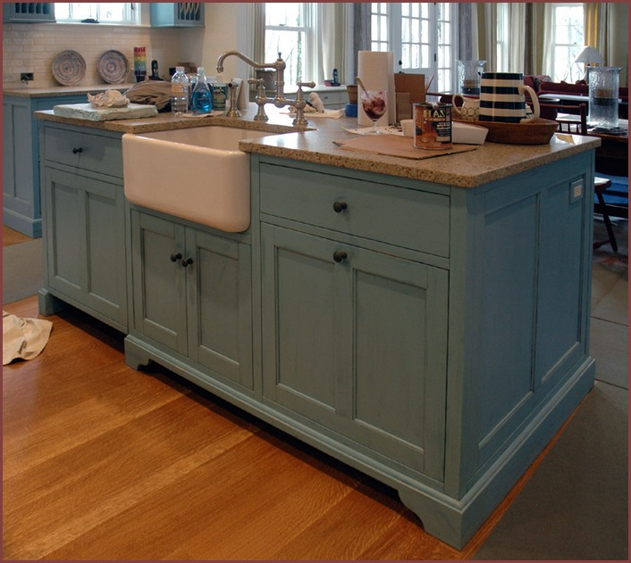 Two Tier Kitchen Island