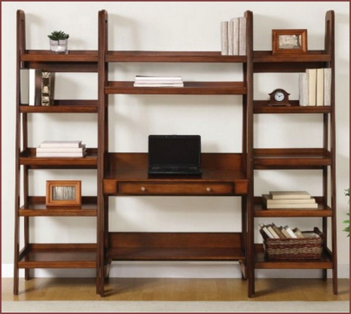 Wood 3 Shelf Bookcase Multiple Finishes Color Black